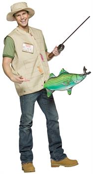 Men's Catch Of The Day Costume - One size fits most