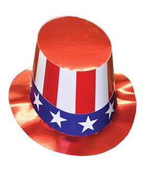 Uncle Sam Hat - One Size for 4th July