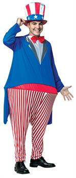 Uncle Sam Hoopster Costume