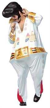 Men's The King Hoopster Costume