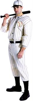 Men's Old Time Baseball Player Costume