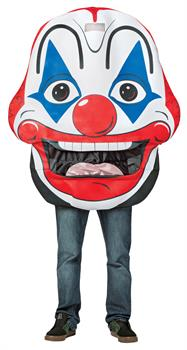 Men's Clown Mouth Head Costume - Standard