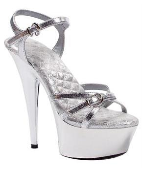 Kendall Silver Shoes