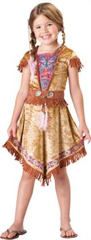 Girl's Indian Costume