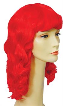 MERMAID WIG POPULAR RED