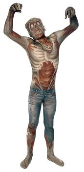 Boy's Zombie Morphsuit Costume