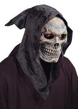 Hooded Flexi Face Skull Mask