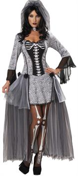 Women's Skeleton Bride Costume