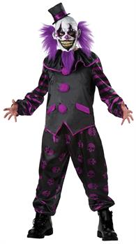 Men's Bearded Clown Costume