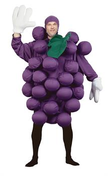 Unisex Purple Grapes Costume