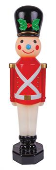 TOY SOLDIER VINTAGE RED 42IN