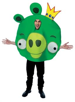 Adult Angry Birds King Pig Costume