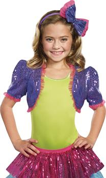 Dance Craze Bolero Purple Medium L