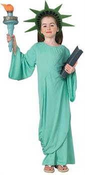 Girls Girl's Statue Of Liberty Costume for 4th July
