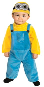 Toddler Despicable Me Minion Bob Costume