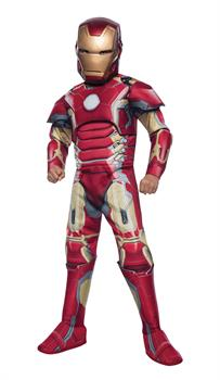Boys Iron Man Mark 43 Boy's Costume - 12-14