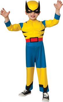 Boys Toddler Wolverine Costume - Toddler 1-2