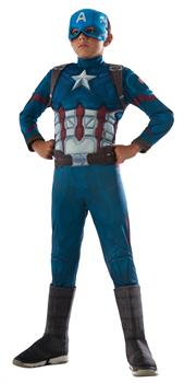 Boy's Captain America Costume