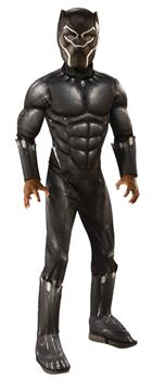 BLACK PANTHER DELUXE CHILD COSTUME
