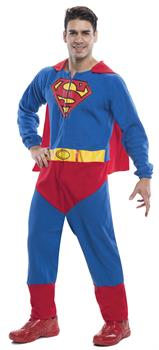 Men's Superman Onesie Costume