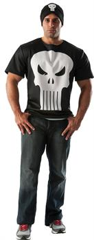 Men's Punisher T-Shirt and Hat Set