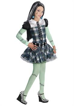 Girl's Monster High Frankie Stein Costume
