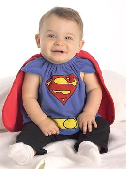 ab2da3974750 Infant Superman Costume Bib - CostumePub.com