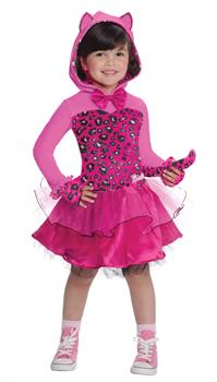 Girl's Barbie Kitty Cat Costume