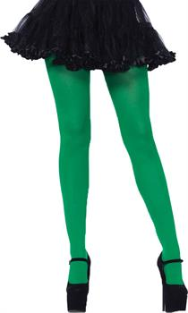 Adult Nylon Green Tights