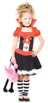 Girls Girl's Queen of Hearts Costume