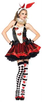 Women's Wonderland Rabbit Costume