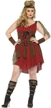 Deadly Huntress Adult Costume