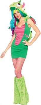 Women's Magic Dragon Costume