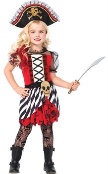 Girls Girl's Rogue Pirate Costume