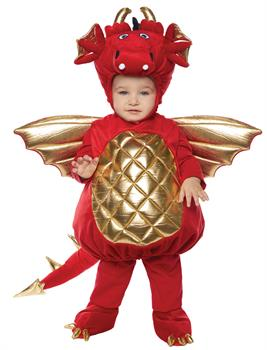 Dragon Toddler Red Costume