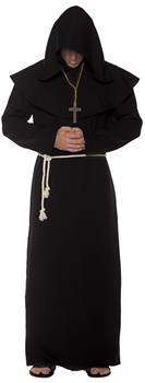 MONK ROBE ADULT BLACK
