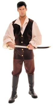 Men's Buccaneer Costume - One Size