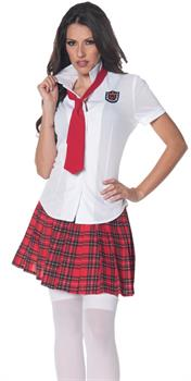 School Girl Shirt Costume