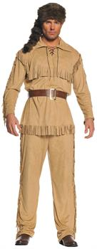 Frontier Man Adult One Size Costume