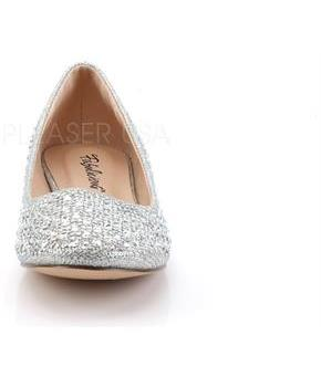 Round Toe Ballet Flat Embellished w/RS