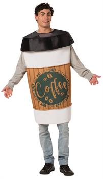 Coffee 2 Go Adult Costume