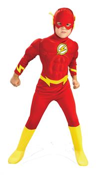 Boy's Flash Muscle Costume