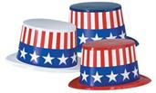 Patriotic Hats 25 Pack