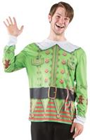 Adult Ugly Christmas Elf Sweater