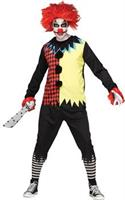Men's Freakshow Clown Costume