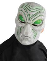 LIGHT-UP GRAY ALIEN MASK
