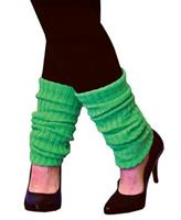 Adult Neon Green Leg Warmers