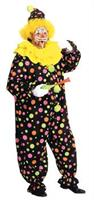 Adult Polka Dot Clown Costume