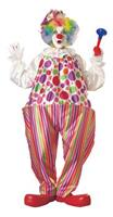 Adult Harpo Hoop Clown Costume
