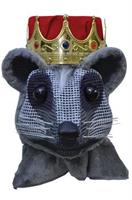 Mouse King Head With Red Crown